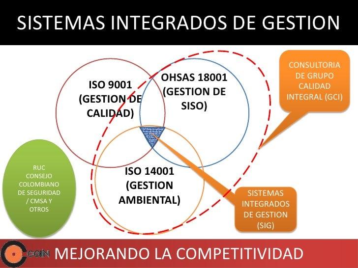 SISTEMAS INTEGRADOS DE GESTION                                                      CONSULTORIA                           ...