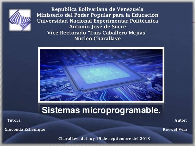 UTILIDAD: Republica Bolivariana de Venezuela Ministerio del Poder Popular para la Educación Universidad Nacional Experimen...
