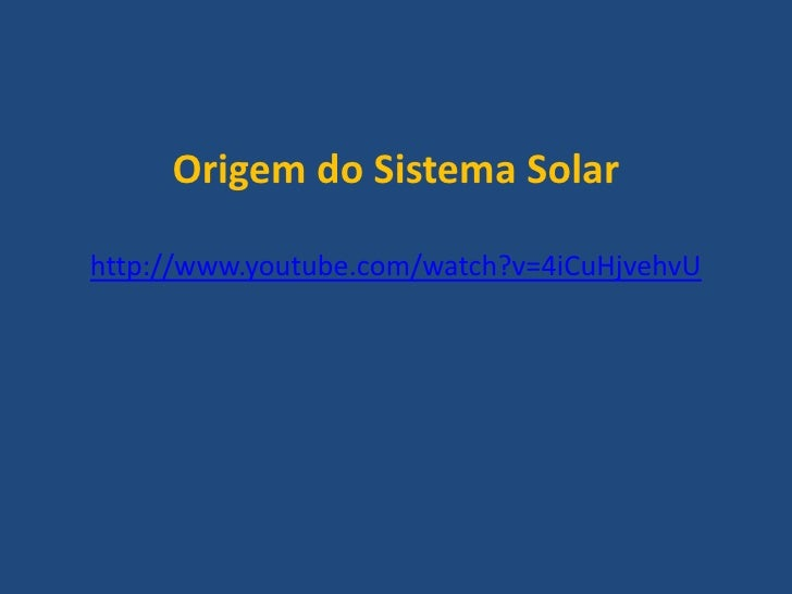 Sistema solar; Atmosfera; Radiação solar Slide 2
