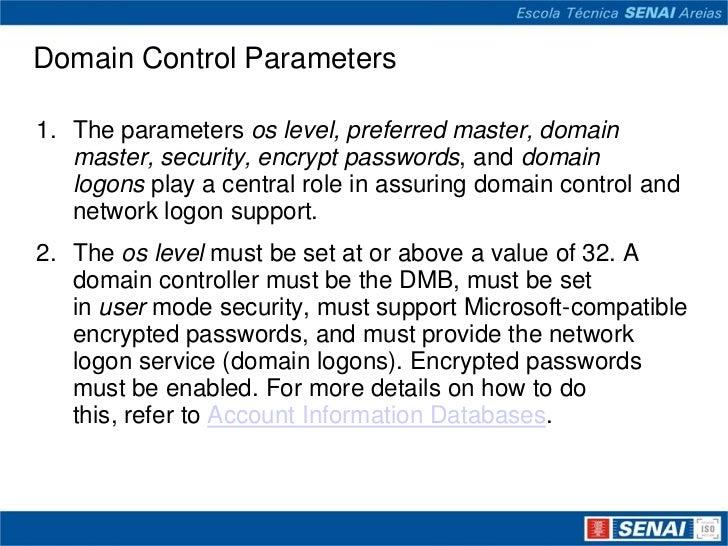 Sistemas operacionais de redes sambacomo pdc