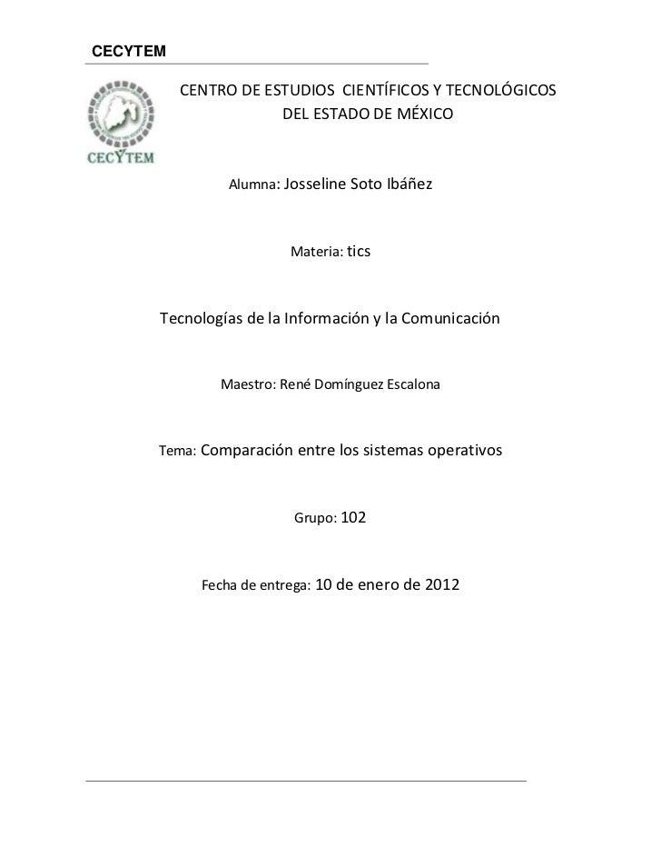 CECYTEM          CENTRO DE ESTUDIOS CIENTÍFICOS Y TECNOLÓGICOS                      DEL ESTADO DE MÉXICO               Alu...