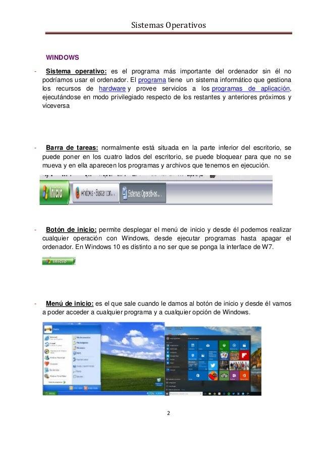 Sistemas operativos Slide 2