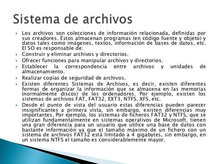    Los archivos son colecciones de información relacionada, definidas por    sus creadores. Éstos almacenan programas (en...