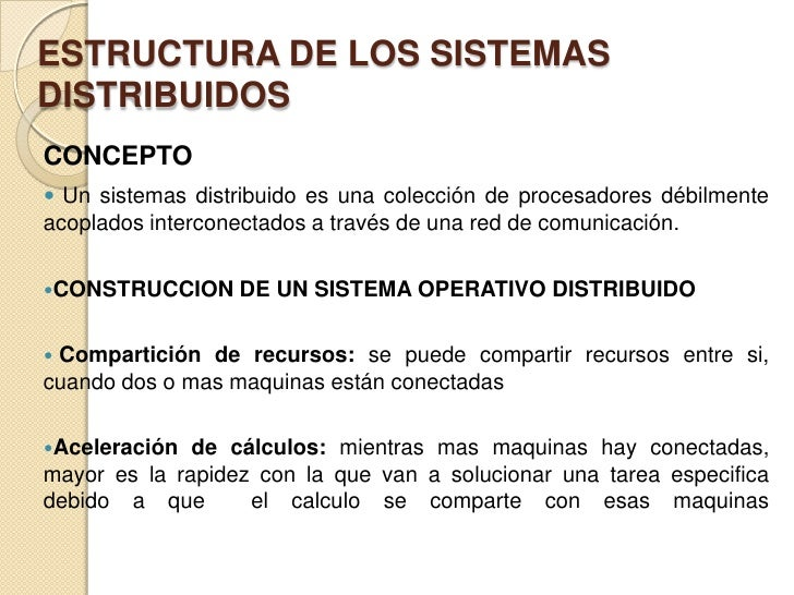 Sistemas Operativos Distribuidos Slide 2