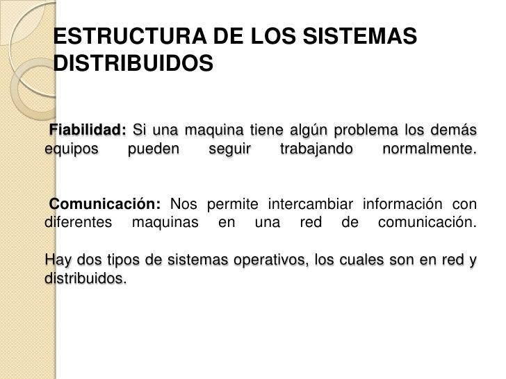 Sistemas Operativos Distribuidos Slide 3