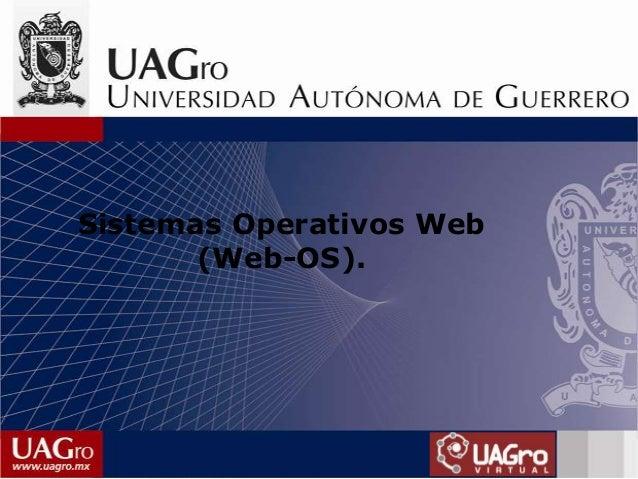 Sistemas Operativos Web (Web-OS).