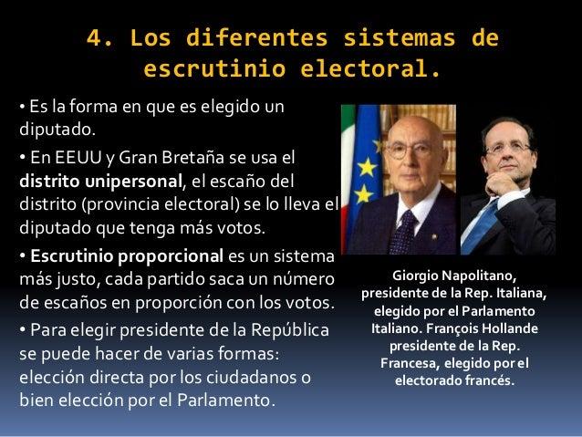 Sistemas pol ticos actuales for Numero deputati parlamento italiano