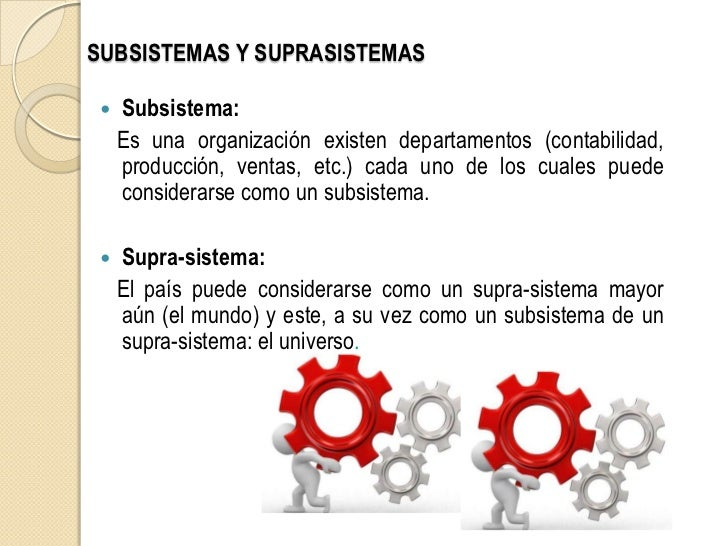 Sistemas subsistemas y suprasistemasxx - Mas y mas curriculum ...