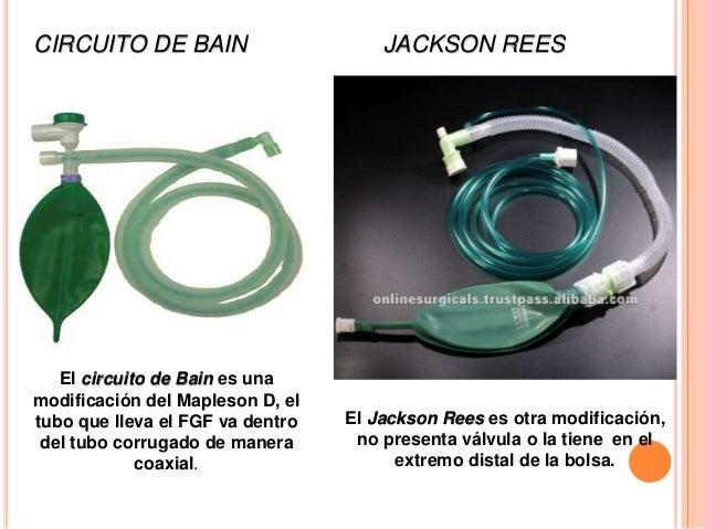 Circuito Bain : Sistemas y circuitos anestésicos