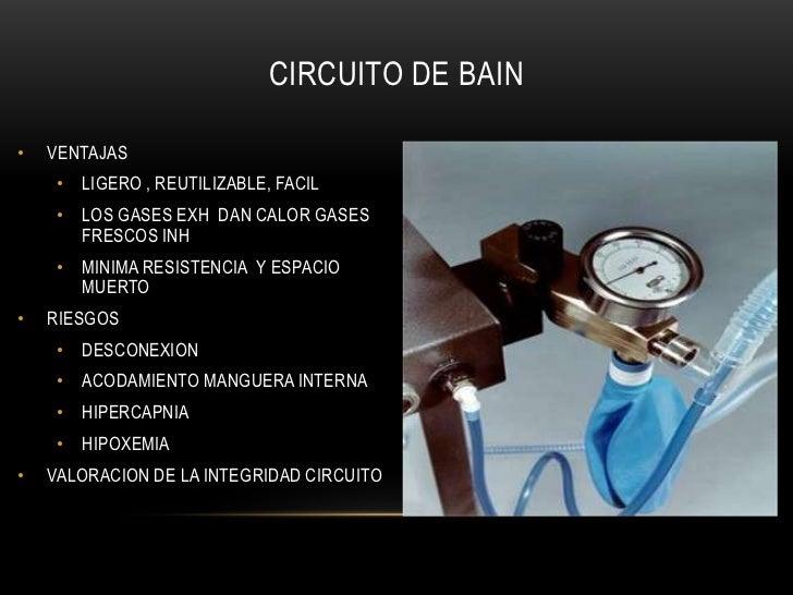 Circuito Bain : Sistemas y circuitos anestesicos