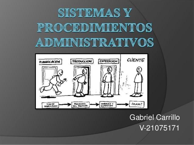 Gabriel Carrillo V-21075171