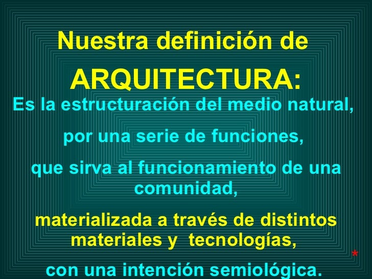 Es la estructuración del medio natural,  por una serie de funciones,  que sirva al funcionamiento de una comunidad, materi...