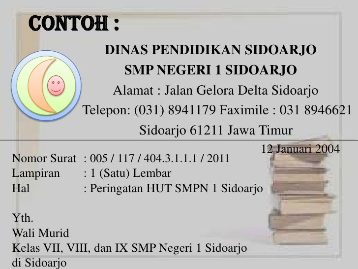 Sistematika Surat Dinas Full Version