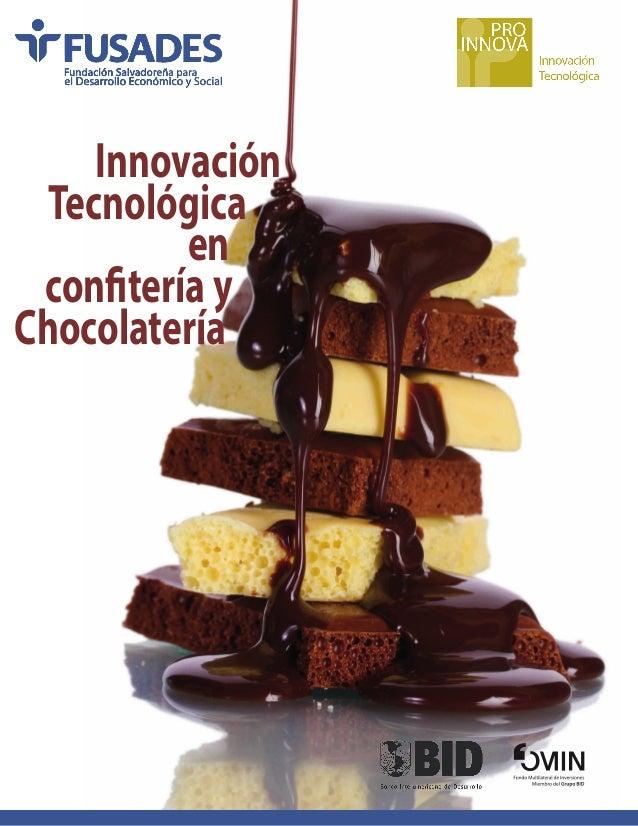 Innovación tecnológica en confitería y chocolatería