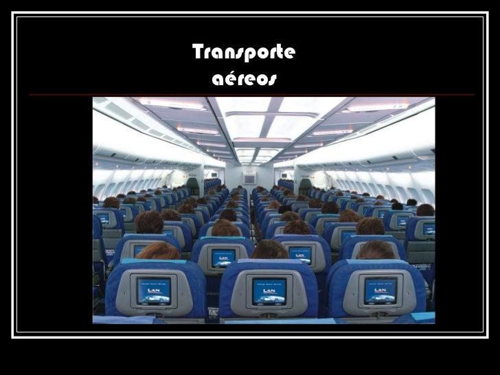 Transporte aéreos