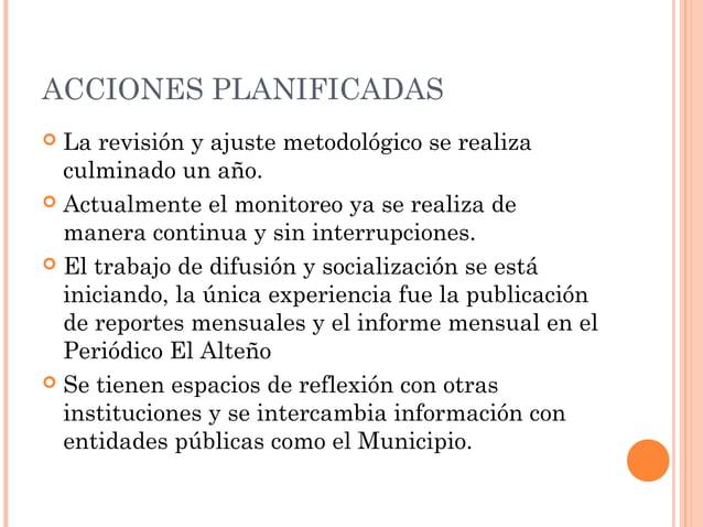 Sistema de monitoreo para el análisis de coyuntura y conflictividad en El Alto