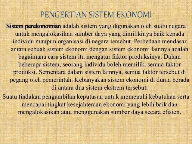 Ekonomi Dagangan
