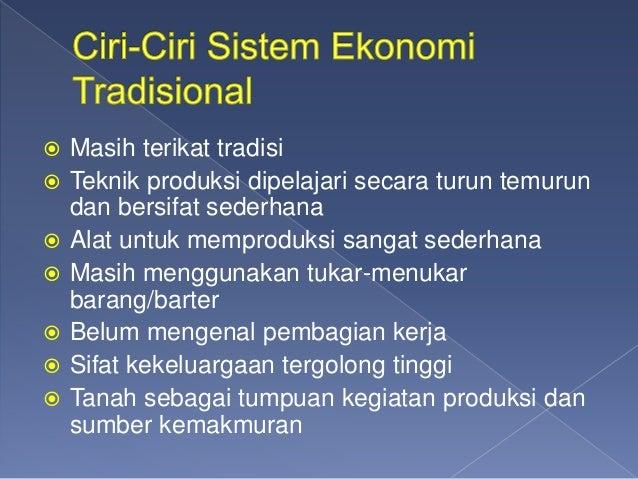 Sistem ekonomi KELAS X