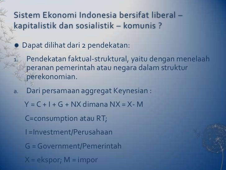 Sistem ekonomi pancasila Slide 2