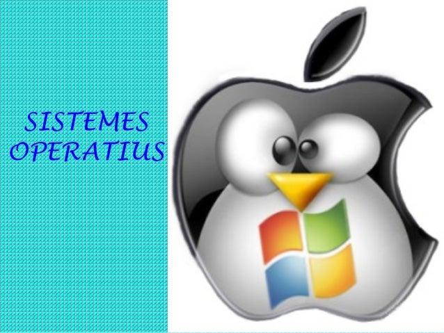 SISTEMESOPERATIUS