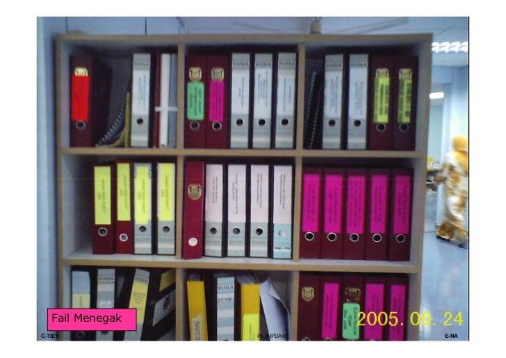 SISTEM DOKET• Sistem Doket menunjukkan pergerakan fail yang mudah  dikesan di mana-mana pejabat.• Dengan menggunakan siste...