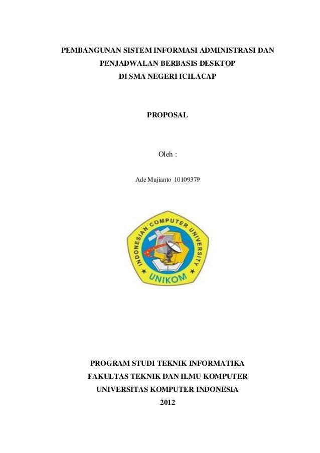 PEMBANGUNAN SISTEM INFORMASI ADMINISTRASI DAN        PENJADWALAN BERBASIS DESKTOP            DI SMA NEGERI ICILACAP       ...