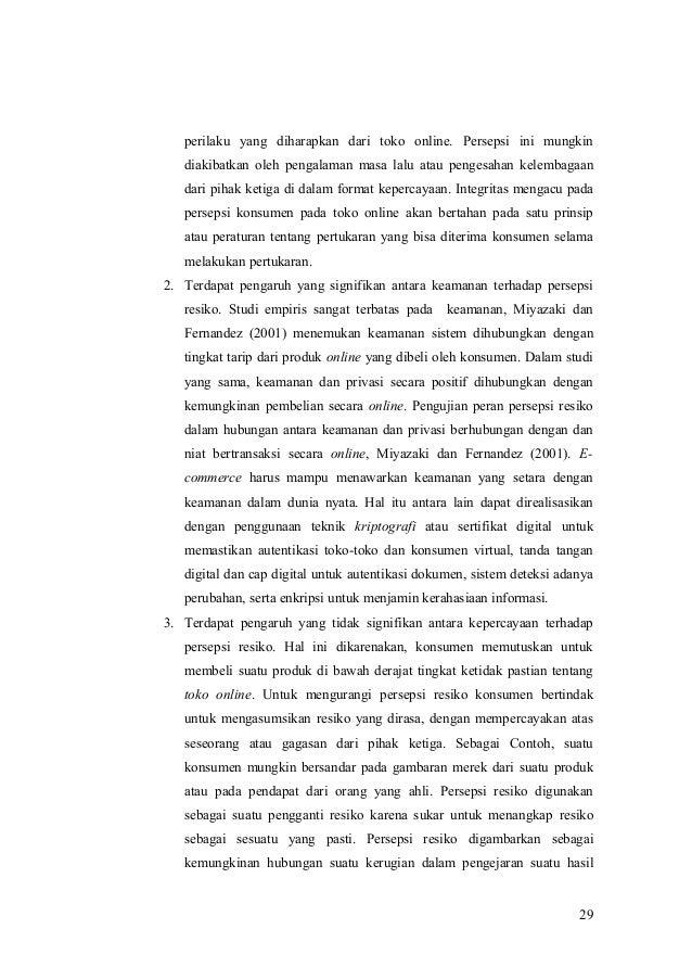 engaruh privasi keamanan kepercayaan dan pengalaman Jurnal manajemen pemasaran, feb universitas brawijaya 1 analisis pengaruh privasi, keamanan dan kepercayaan terhadap niat untuk bertransaksi secara online.