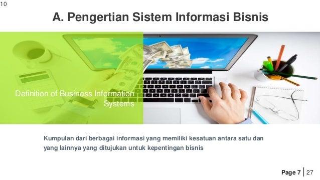 Sistem informasi dalam Bisnis By Muhammad Fauzan