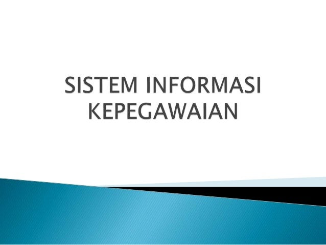 Aplikasi sistem informasi kepegawaian full