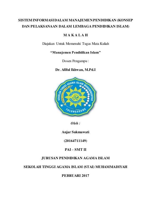 Sistem Informasi Manajemen Pendidikan Konsep Dan Pelaksanaan Dalam L