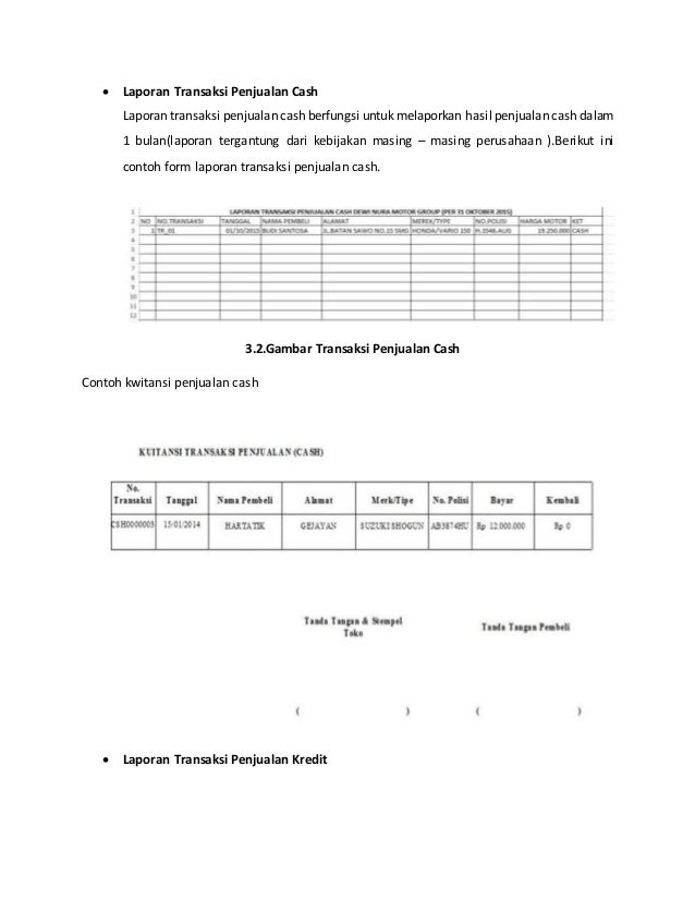 Sistem Informasi Penjualan Motor Bekas