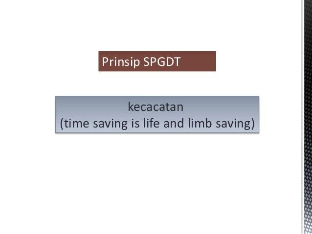 Sistem penanggulangan gawat darurat terpadu (SPGDT)  Slide 3