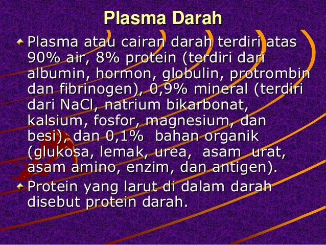 Sistem Peredaran Darah Pada Manusia