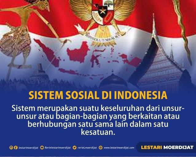 Sistem Sosial di Indonesia