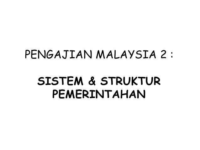 Sistem Pemerintahan