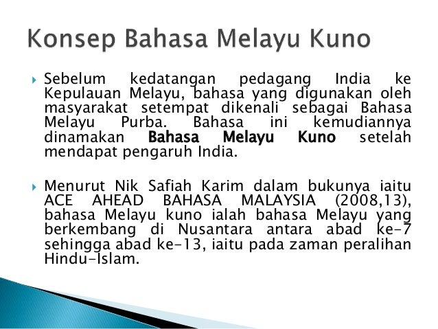 Sistem Tulisan Bahasa Melayu Kuno Presentation