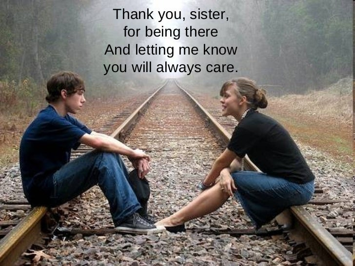 Thank You For Being My Sister Quotes: Thank You My Sister
