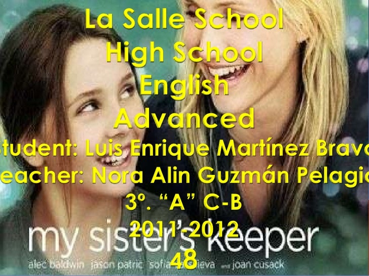 La Salle School<br />High School<br />English<br />Advanced<br />Student: Luis Enrique Martínez Bravo<br />Teacher: Nora A...