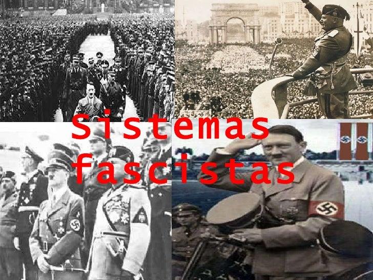 Sistemas fascistas
