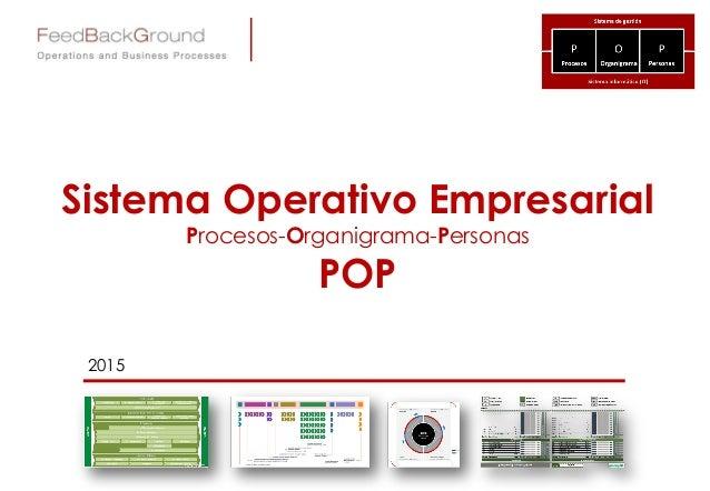 Sistema Operativo Empresarial Procesos-Organigrama-Personas POP 2015