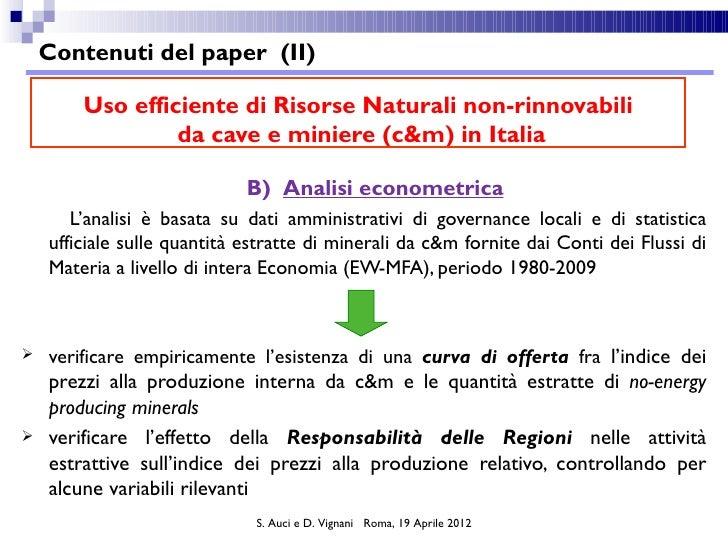 sisvsp2012_sessione6_vignani_auci Slide 3