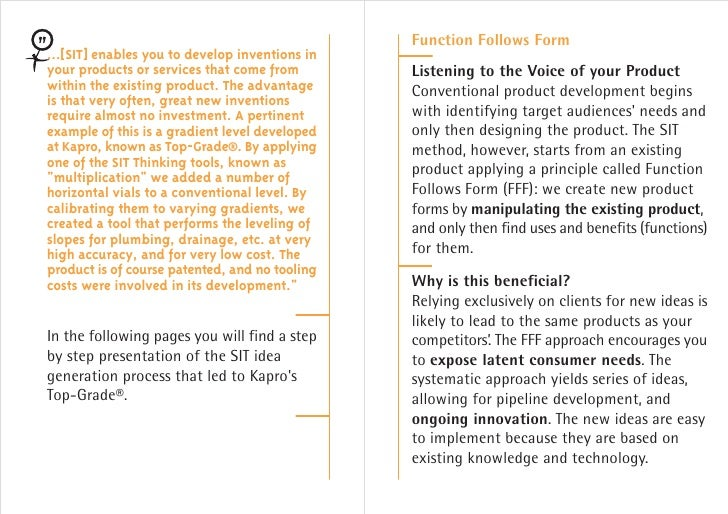 Sit innovation consulting new product development case for Innovation consulting san francisco