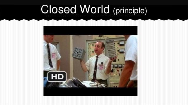 Closed World (principle)
