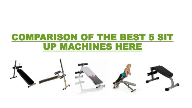 Top 10 Sit Up Machines Best Ab Benches For Core Training