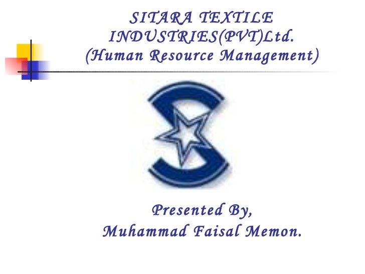 ethicsa report on sitara textie I am also gratitude to staff of sitara chemical industries ltd especially mrijaz   consumers belonging to textile, soap, paper and vegetable oil industries are.