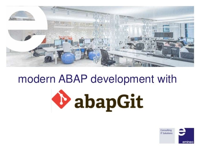 modern ABAP development with