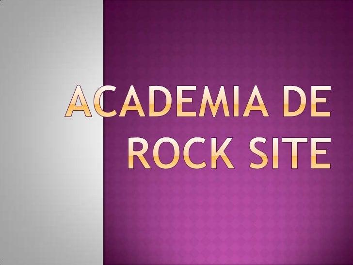 En esta academia nos dedicamos a darasesorias a interesados en aprendertecnicas de toques para conformar unabanda de rock ...