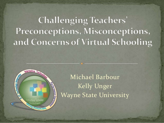 Michael Barbour    Kelly UngerWayne State University