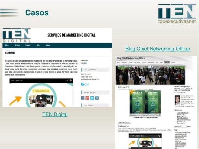 Casos  Blog Chief Networking Officer  TEN Digital