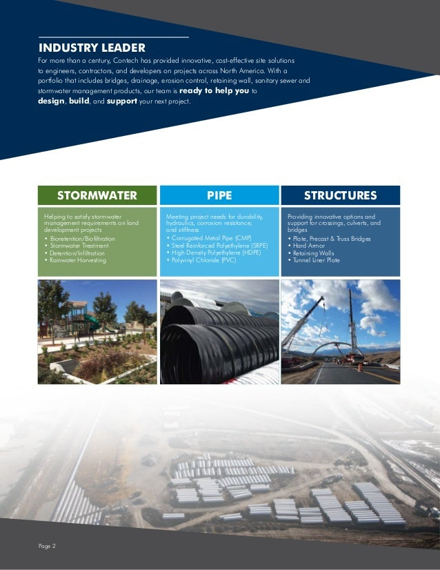 Site Solutions by Contech Slide 2